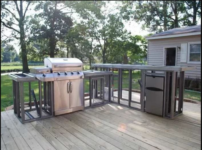 How to Build a BBQ Island With Steel Studs