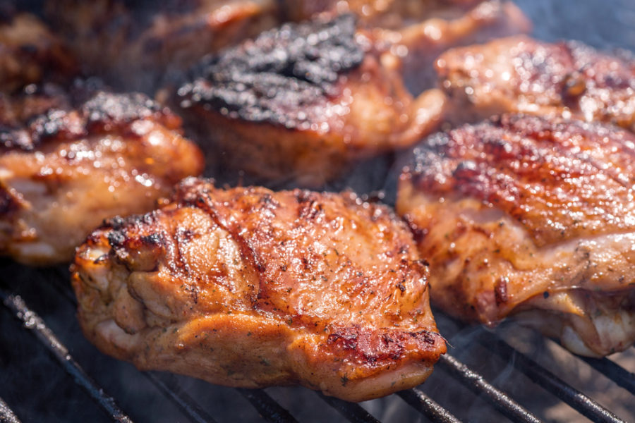 How to smoke chicken thighs 1 e1604978779481