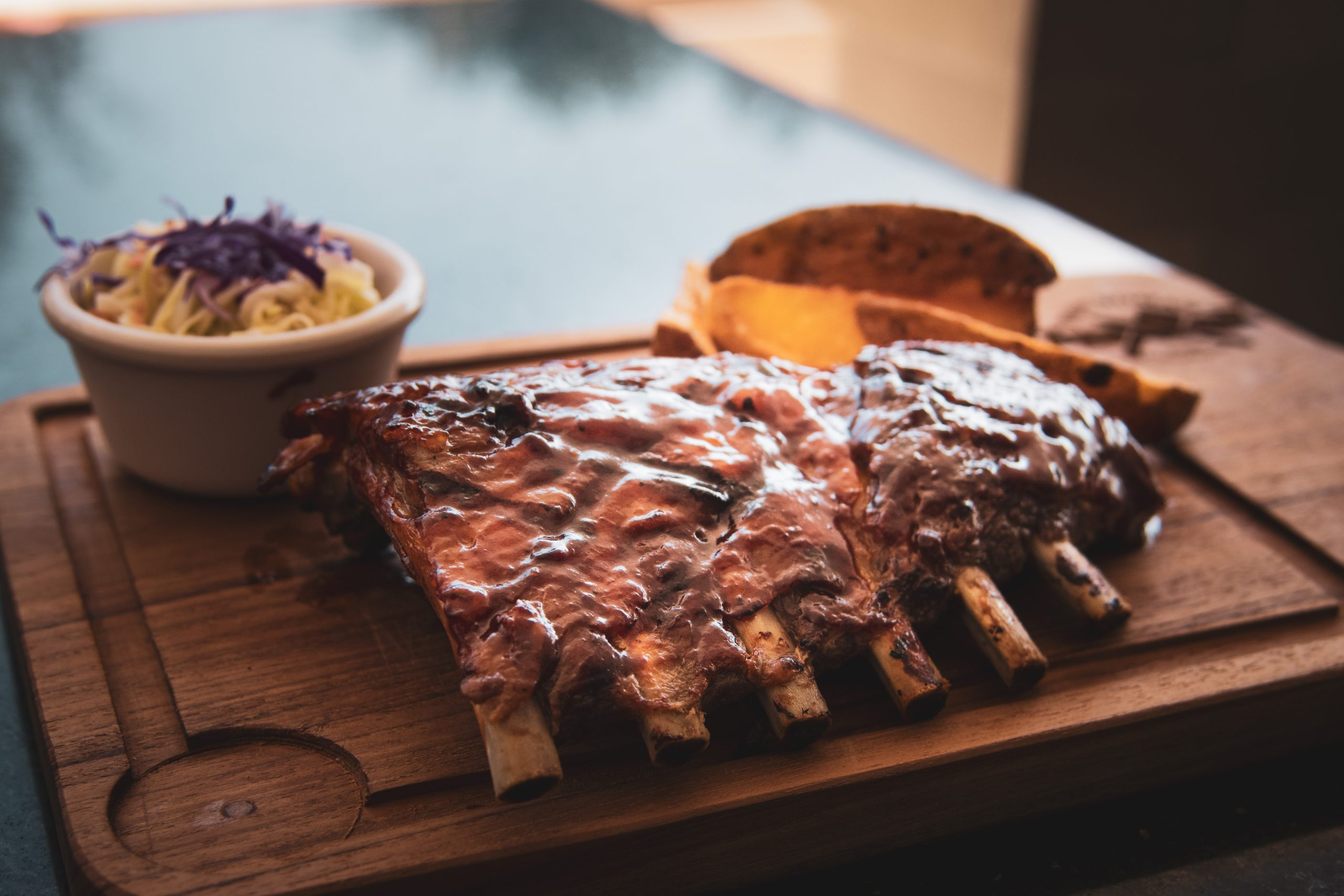 Delicous Baby back ribs