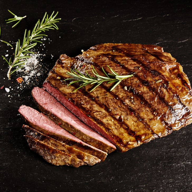 grilled flank steak vs rosemary